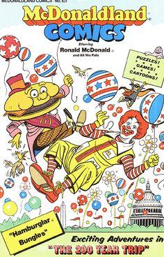 McDonalds Birthday Party Card Birthdays Mcdonalds toys and