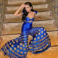 Payal Shah – Papa Don't Preach by Shubhika Indian Bridal Outfits, Pakistani Outfits, Indian Dresses, Indian Look, Indian Wear, Indian Ethnic, Sharara Designs, Pakistani Couture, Indian Fashion