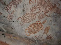 Western Australia - Kimberley - King George River Aboriginal Rock Art Site