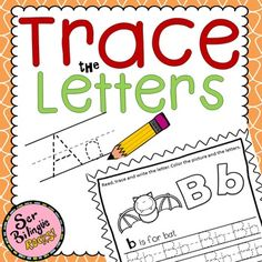 This Activity Will Help Students Practice Their Writing And Letter RecognitionThe Can Be