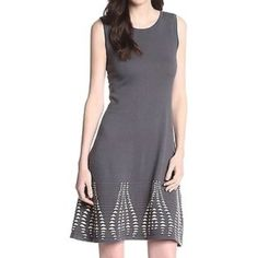 Gorgeous Nine Weat Gray Sweater Dress This is such an adorable dress! It has a great fit to it and is comfortable too! It could we worn in the fall/winter with leggings or in the spring just as it is! This is new with tags! Retails for $100! Nine West Dresses