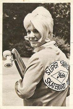 Super Surfer Skateboard Queen.....Patti McGee