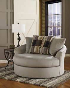 benchcraft casheral oversized swivel chair | for the home