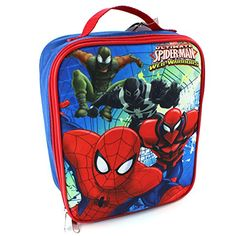 Spider Man Web Warriors Soft Lunch Box Wa