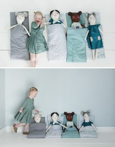 Mer Mag: Sleepy Doll Slumber Party!