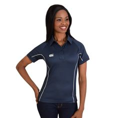 Show details for Canterbury Ladies Side Panelled Polo