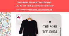 TutoRobeTeeShirtAutomne.pdf Couture Sewing, Baby Sewing, Tee Shirts, Google Drive, Mac, Outfits, Dressmaking, Sewing Lessons, Tutorial Sewing