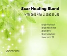 Scar Healing with Essential Oils