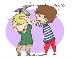 Niall Horan, Kevin, and Louis Tomlinson :D