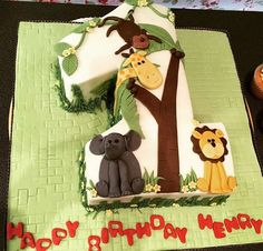 39 Creative And Themed 1st Birthday Cake Ideas Baby 1st Birthday Cake, 50th Birthday, Occasion Cakes, 1st Birthdays, Custom Cakes, Baby Boy, Christmas Ornaments, Holiday Decor, Awesome