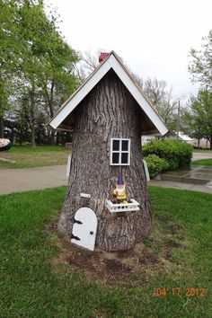 A knome tree house