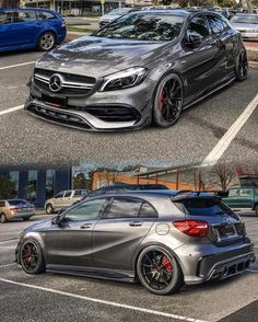 "4,647 Likes, 50 Comments - @amgnation_ on Instagram: ""A45 AMG sitting clean _______________________________________________________ Owner:…"""