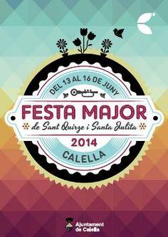 Festa Major de Sant Quirze i Santa Julita a Calella (juny 2014)