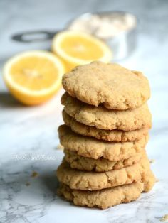 AIP Cookies - egg-free, nut-free, lemon   blueberry paleo cookies