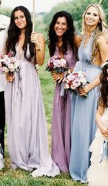 Blue-lavender bridesmaids#Vintage boho wedding ...Wedding App for brides & grooms, bridesmaids & groomsmen, parents & planners ... the how, when, where & why of wedding planning ... https://itunes.apple.com/us/app/the-gold-wedding-planner/id498112599?ls=1=8  ♥ The Gold Wedding Planner iPhone App ♥
