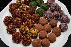 A variety of boozy truffles.  I'm sunk. by shutterbean