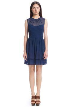 Point D'Espirit Lace Jessica Dress
