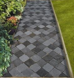 Pinwheel Paver Pattern Two Tone Outdoor And Patio