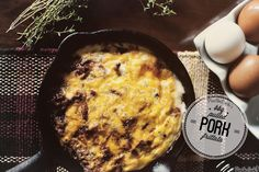 BBQ Pulled Pork Frittata (for Two)