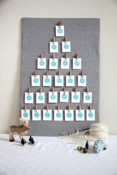 Free Advent Calendar Printable DIY