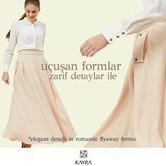Rahat ve şık formlarda etek, minimalist formu ile yaz için mükemmel. http://www.kayra.com.tr/p/6526/b5-12063-cepli-etek-bej **Minimal skirt in a comfortable yet stylish form is perfect for summer.
