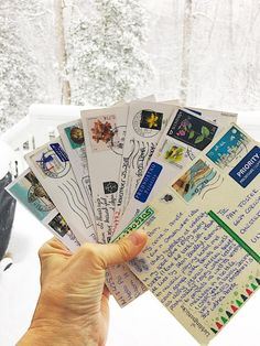 Crafty Snail Mail, Letter Writing, Pen Pals, and Paper Crafting!
