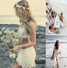robe-mariage-sur-la-plage-style-boho-chic-idées-photos