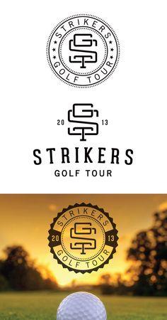 Logo Design, Identity, Golf Logo - bradgattis.com
