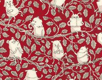 Red on Red, February to April 2012 by Mattias Adolfsson, via Behance