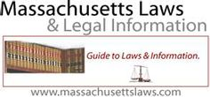 Very handy source for Massachusetts laws and regulations. Massachusetts, Law