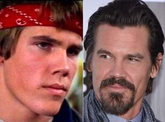 """Where Are They Now? The Goonies - Josh Brolin as Brand """"Brand"""" Walsh - Then and Now from 8Ball.co.uk / www.8ball.co.uk/blog/8ball_film/goonies-now/"""