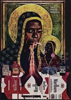 Erzulie Dantor by Matt Burden // Voodoo Erzulie Freda, Haitian Revolution, Pan Africanism, Haitian Art, Black Goddess, Orisha, Mystique, African Diaspora, Gods And Goddesses