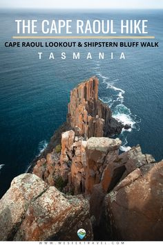 Everything you need to know about the Cape Raoul hike in Tasmania. How to complete the Cape Raoul Walk to the lookout independently. Also includes an optional side-trip to the lookout on the Shipstern Bluff Walk Tasmania, Travel Around The World, Around The Worlds, Traveling By Yourself, Cape, Travel Destinations, Douro Valley, Hiking, New Travel