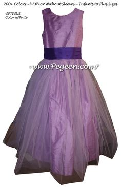 2b3c779d6 470 Best Purple flower girl dresses images in 2019 | Custom dresses ...