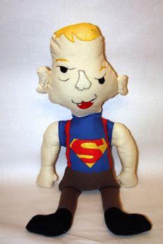 "Custom Made ""Sloth"" Ragdoll, softie, plush, made to order, goonies memorabilia, handmade character on Etsy, $38.50"