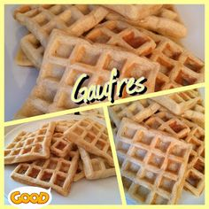 Les Flexigourmandises de Sony: Gaufres fait maison Sony, Breakfast, Desserts, Cooking, Blog, Waffles, Home Made, Recipes, Morning Coffee