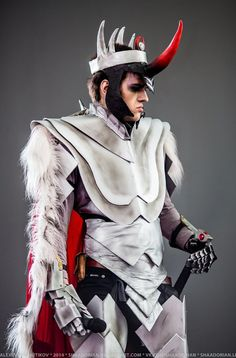 Awesome King Sombra cosplay