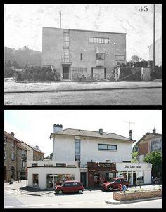 Deformed Corbusier :O    Villa Besnus (Ker-Ka-Ré) [1922 & 2010]- Vaucresson    Architectes: le Corbusier [1887-1965] & Pierre Jeanneret [1896-1967]
