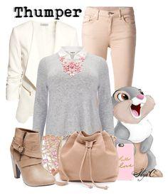 Thumper - Fall - Disney's Bambi by rubytyra featuring a high heel bootie Disney Bound Outfits Casual, Disney Princess Outfits, Cute Disney Outfits, Disney Themed Outfits, Cute Teen Outfits, Disney Dresses, Disney Inspired Fashion, Disney Fashion, Women's Fashion