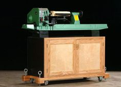 Midi Lathe Stand Plans - WoodWorking