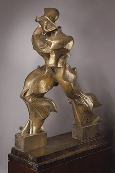 Umberto Boccioni | Unique Forms of Continuity in Space, 1913