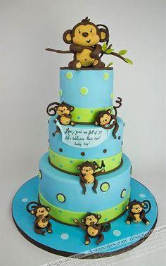 .Love the monkey cake !
