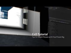 C4D Depth Pass Tips and Free Preset Rig - YouTube