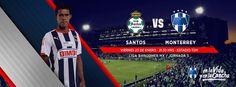 Jornada 3 en el torneo de #Clausura2015 de la LIGA Bancomer MX: viernes 23 de enero a las 21:30hrs en el Estadio Corona. Club Santos vs. Club de Futbol Monterrey #VamosRayados.