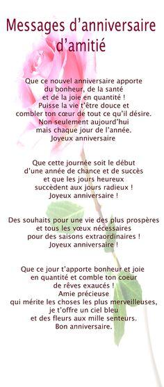 anniversaire sur Pinterest | Citations D'anniversaire et Citations ...