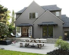 Exterior House Paint Design, Pictures, Remodel, Decor and Ideas - page 11