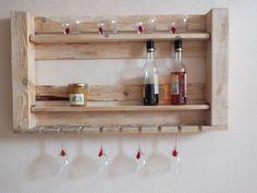 Mueble - estantería para cocina hecha con palets #decor #reciclaje