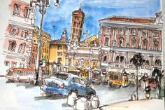 sketches of rome - Danny Gregory