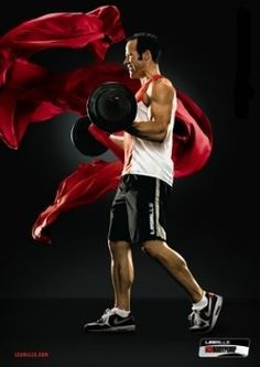 Your muscles burn from lifting your barbell while the music guides you through your motions. You feel the strain, drops of sweat form all over...