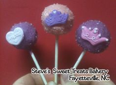 Princess cake pops Princess Cake Pops, Cupcake Cakes, Cupcakes, Sweet Treats, Bakery, Desserts, Food, Tailgate Desserts, Sweets